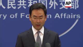 China's MOFA on NKorea, US-China trade tariffs dispute