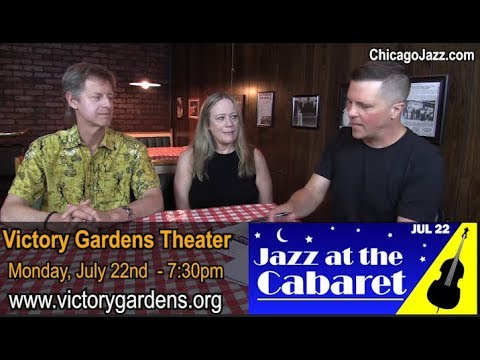 TALKING JAZZ EPISODE 139 with Anne & Mark Burnell  - JAZZ AT THE CABARET July 22nd
