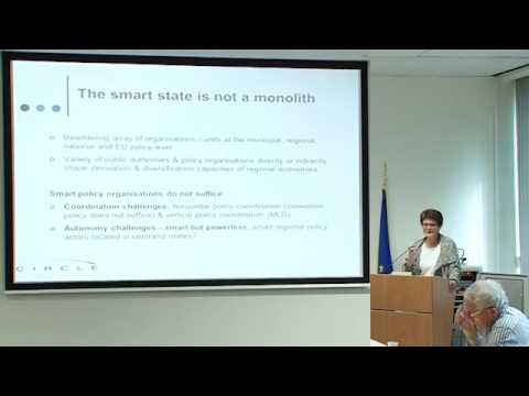 Michaela Trippl -The Public Animateur Place based innovation and the Smart State