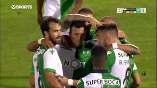 Goal | Golo Bruno Fernandes: Loures 0-(1) Sporting (Taça de Portugal 18/19 #3)