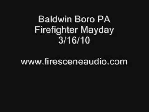 Baldwin Boro PA Firefighter Mayday 3/16/10