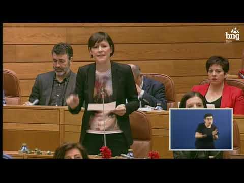 """Ana Pontón: """"Galiza continúa indefensa para enfrontar a vaga de lumes"""""""