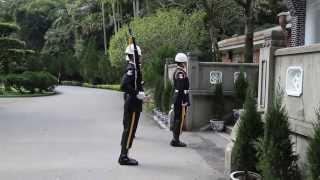 Taiwan Gendarmerie in Chiang Kai-shek mausoleum Part.1