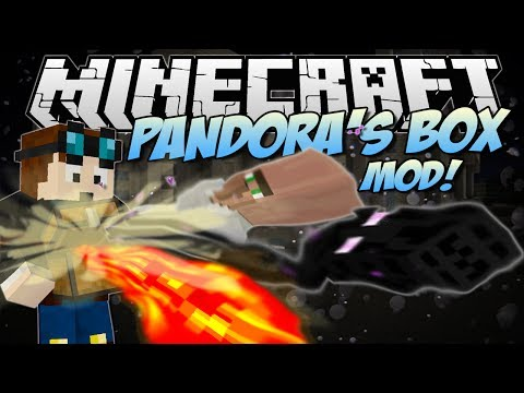 Minecraft | PANDORA'S BOX MOD! (Hundreds of Random Happenings!) | Mod Showcase [1.7!]