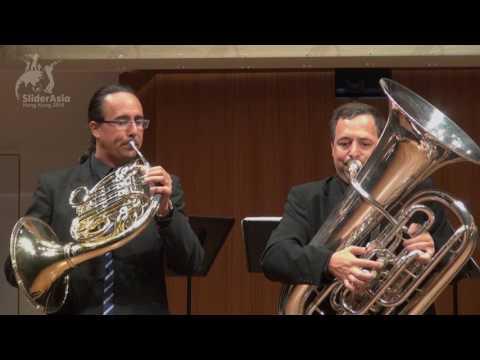 SliderAsia 2015: Geneva Brass Quintet