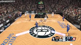 Playstation 4 NBA 2K14 HD Gameplay - New York Knicks vs. Brooklyn Nets