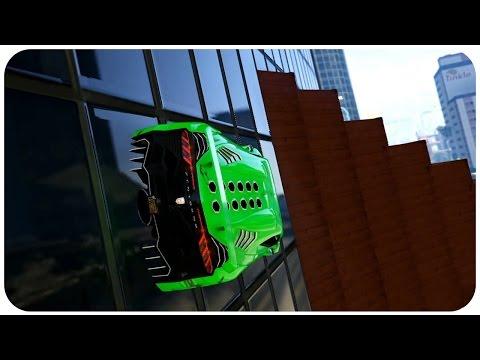 Super Two Way Wall ( GTA ONLINE RACE )