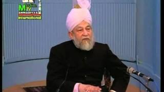 Arabic Darsul Quran 14th Febraury 1995 - Surah Aale Imraan verses 184-186 - Islam Ahmadiyya