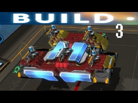 Robocraft Build | Part 3 | - Tier 8 Medic Tank