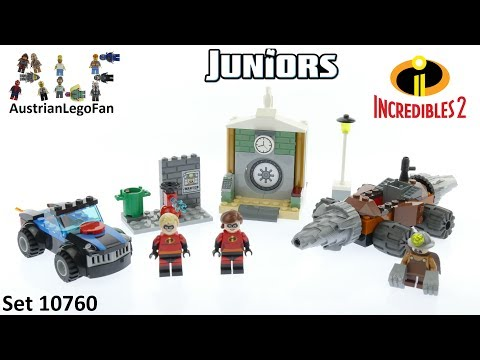 Lego Incredibles 2 Juniors 10760 Underminer´s Bank Heist - Lego Speed Build Review en streaming
