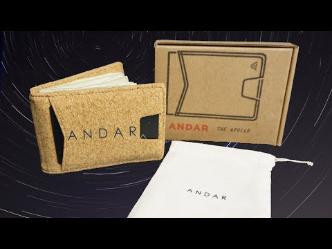 Andar Wallet Unboxing   The Apollo