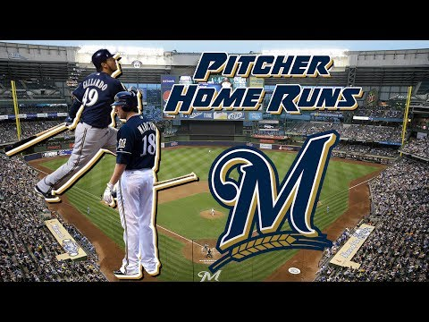 Milwaukee Brewers Pitchers Home Runs