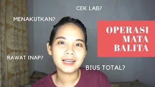 Sumbatan Saluran Air Mata Balita Harus Operasi?!