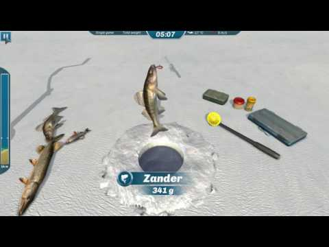 Ice Lakes - будем искать ЩУКУ (Лучший симулятор Зимней рыбалки)