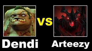 Dendi Pudge vs Arteezy Shadow Fiend Dota 2