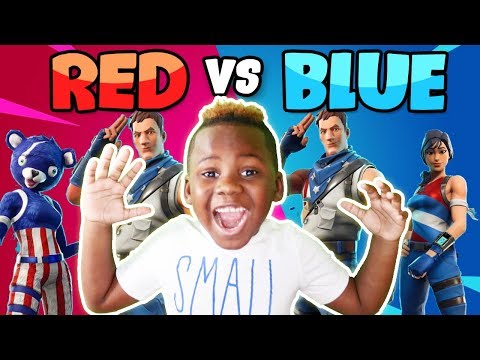 Epic Fortnite Creative Red vs Blue with Friends