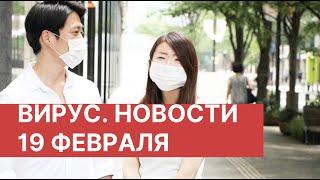 коронавирус. Новости в Китае 19 февраля (19.02.2020). Последние новости о вирусе из Китая сегодня