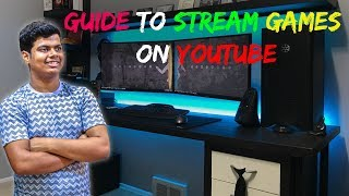 How to Stream Games on YouTube | #AskDada | HINDI