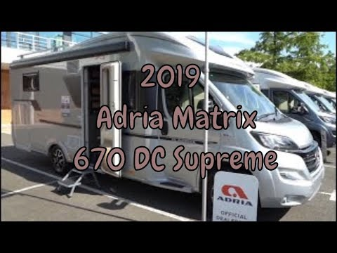 2019 Adria Matrix 670 DC Supreme Quick Motorhome Tour
