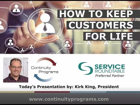 How to Keep HVAC Customers for Life - Webinar Replay for Contractors