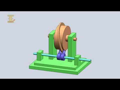 Three-Link Spatial Cylindrical Ridge Cam Mechanism