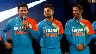 Team India gets new jersey for T20 World Cup