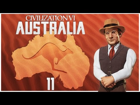 Civilization 6 as Australia - Episode 11 ...Gandhi Leads Auckland!...