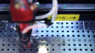 видео Лазерно-гравировальный станок RedWood RW-5030