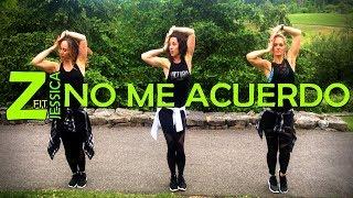 No Me Acuerdo - Thalia Feat. Natti Natasha   Zumbafitjessica