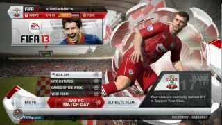 Fifa 13 - Southampton F.C Backgrounds with MOTD Intro