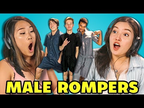 dede2a87fb9 TEENS REACT TO MALE ROMPERS ( ROMPHIM)