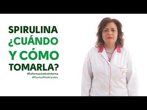 Spirulina, cuándo y cómo debemos tomarla - #TuFarmacéuticoInforma