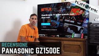 Recensione Panasonic GZ1500: OLED e 4K ma non solo