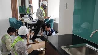 Căn hộ Green River 60 m2 đã có nội thất