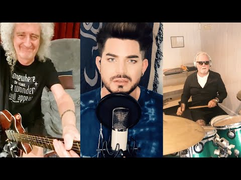 Queen + Adam Lambert - 'You Are The Champions' (New Lockdown version! Recorded on mobile phones!)
