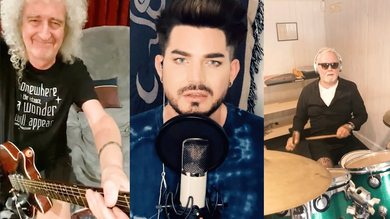 Queen + Adam Lambert - 'You Are The Champions' (New Lockdown version! Recorded on mobile p