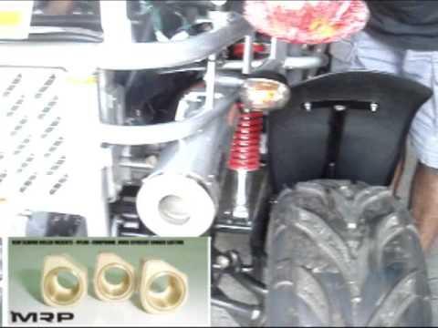 N-GK-02110 TJ Hammerhead 250cc MRP Exhaust Upgrade