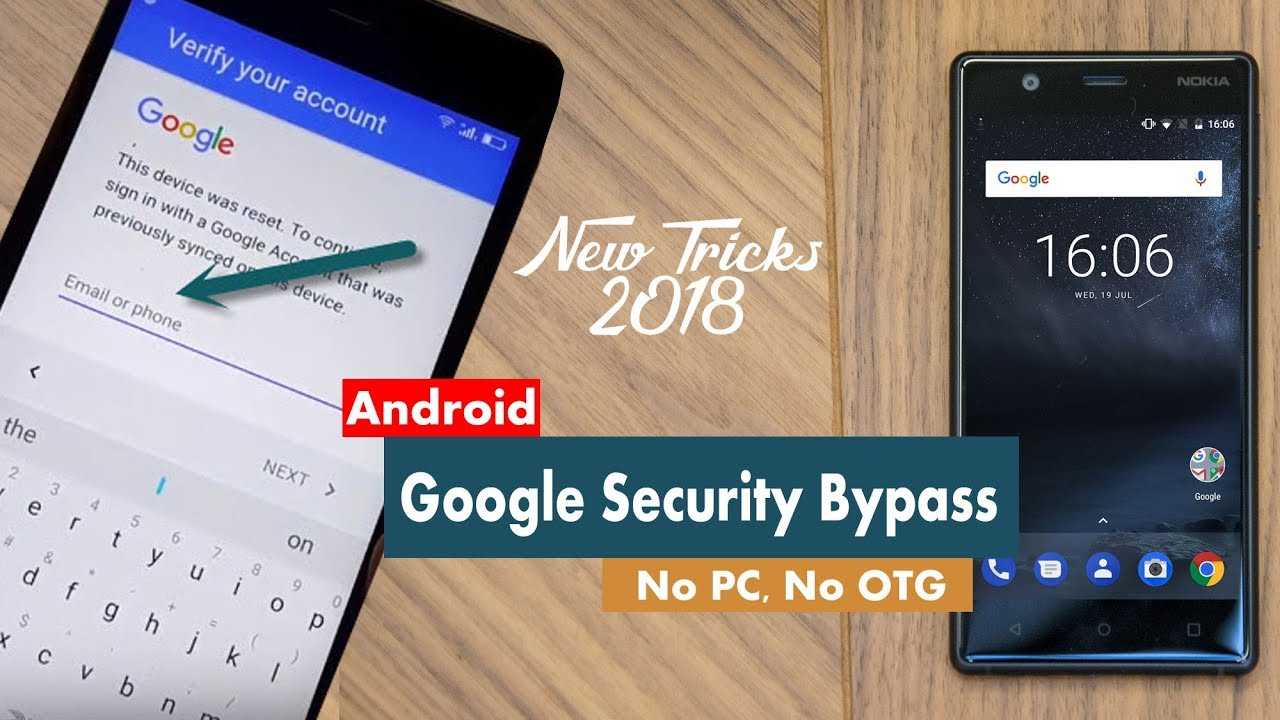 New Way to Bypass Google Account Verification 2018 without PC/OTG [All  Phone]