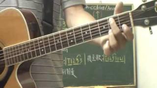 民謠吉他(教學影片)-壞人(方炯鑌)-彈奏概述