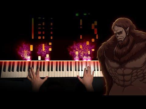 Attack On Titan Opening 5 - Shoukei To Shikabane No Michi (Piano Cover)