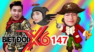 BIỆT ĐỘI X6 | BDX6 #147 |Nam thần 'RỜI BỎ' Yoon Quốc Anh - Vlogger Huy Cung xanh mặt vì ăn sầu riêng
