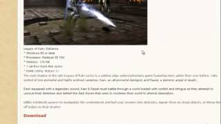 HOW TO DOWNLOAD Free Legacy Of Kain Defiance PC Game FREEE DOWNLOAD
