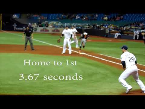 Fastest Baseball Player EVER!!