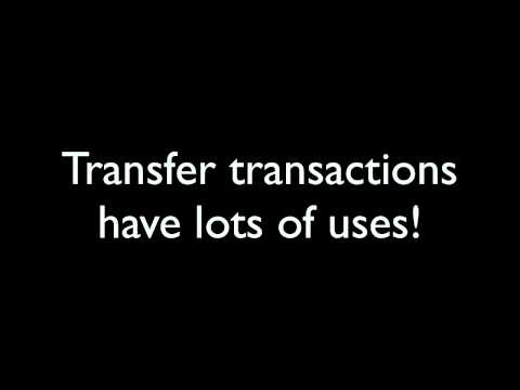 Transfers and Paying Credit Cards