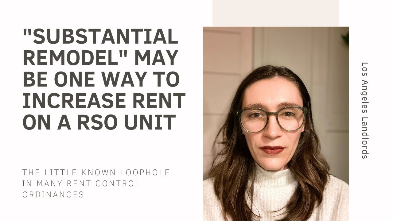 Relocation v. Buy-Out, Los Angeles Landlords' Two Ways to Fair Market Rent