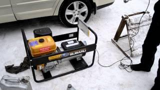 видео Сварочный генератор Energo EB 7.0/230-W220R