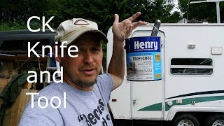 Camper Roof Maintenance with Henry's TropiCool 100% Silicone Sealant