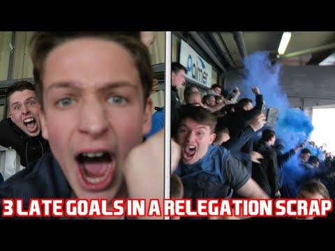 BARNSLEY vs BOLTON *VLOG* 3 LATE GOALS IN A RELEGATION SCRAP!!! SMOKE BOMBS!