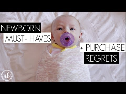 NEWBORN MUST-HAVES + REGRETS! | Natalie Bennett