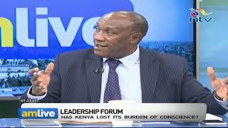 How do we restore the burden of conscience in Kenya?